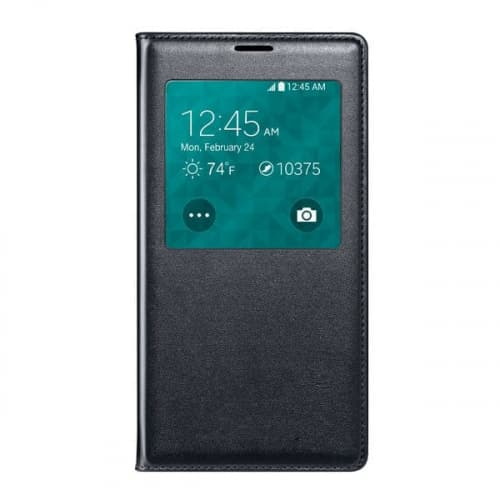 Samsung Galaxy S5 S View Qi Wireless Charging Cover-Black