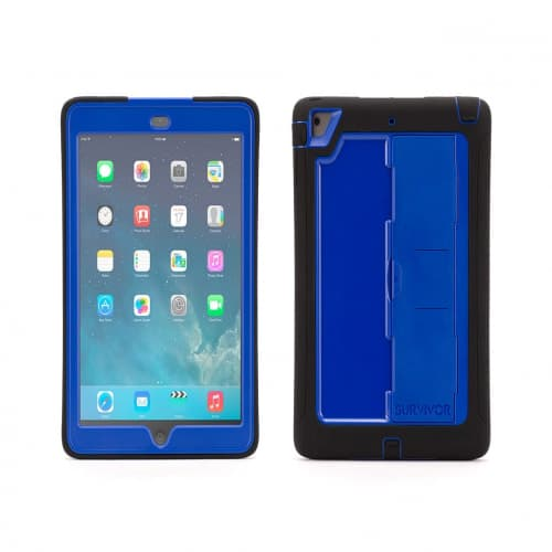 Griffin Survivor Slim for iPad Air Black Blue
