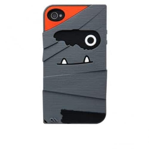 Case-Mate Tut Grey Creatures Silicone Case for Apple iPhone 4