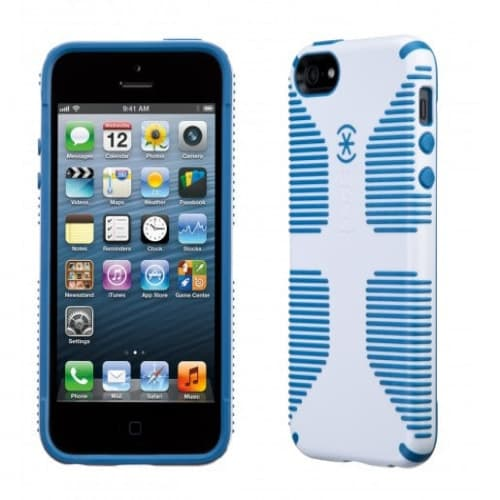 Speck Products CandyShell Grip for iPhone 5 - White/Harbor