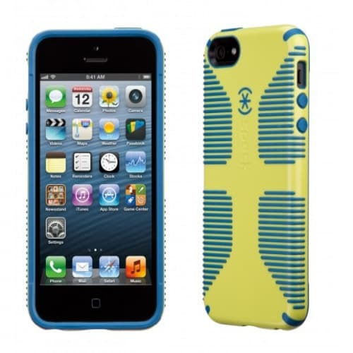 Speck Products CandyShell Grip for iPhone 5 - Lemongrass/Harbor