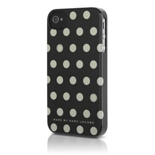 Marc by Marc Jacobs Hot White Dot Snap Case for iPhone 4S/4