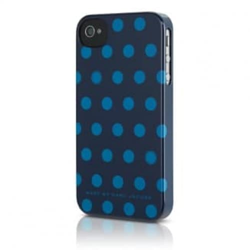 Marc by Marc Jacobs Hot Blue Dot Snap Case for iPhone 4S/4