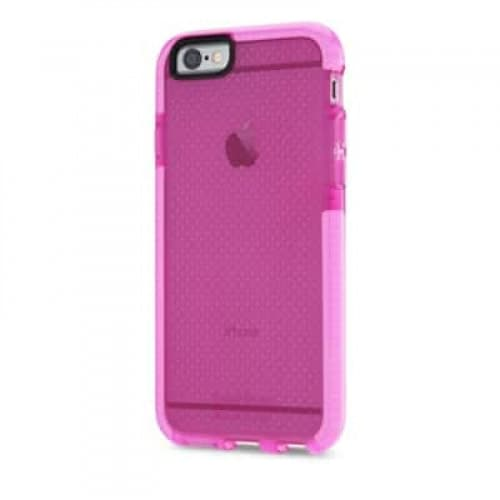 Tech21 Evo Mesh Case (Drop Protective) for iPhone 6 Clear Pink