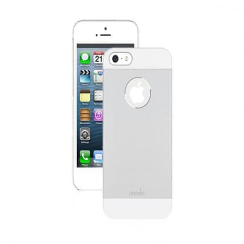 Moshi iGlaze Armour Metal Case for iPhone 5 - Silver