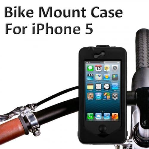 Bike5 Bike Mount Water Resistant Case