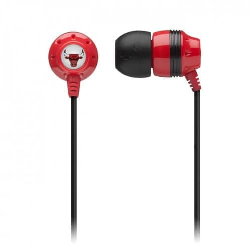 Skullcandy Ink'D NBA Earbud Headphones Bulls