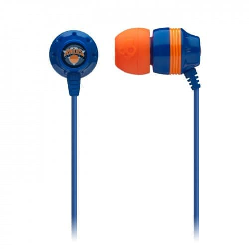 Skullcandy Ink'D NBA Earbud Headphones Knicks