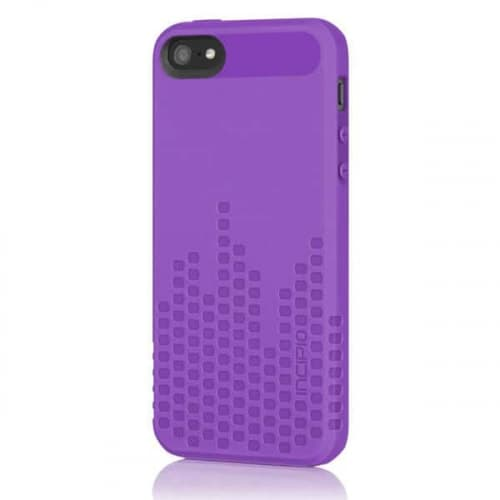 Incipio Frequency Purple for iPhone 5 Impact Resistant Case