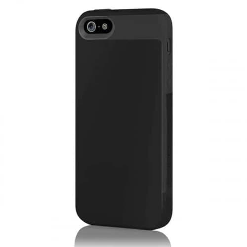 Incipio Faxion Black for iPhone 5 Slim Flexible Hard-Shell Case