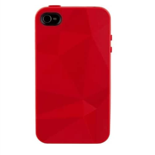 Speck GeoMetric Case IndiRock Red for iPhone 4