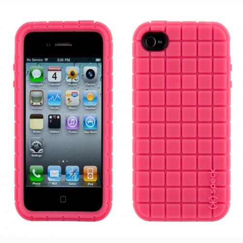 Speck PixelSkin Pink for iPhone 4
