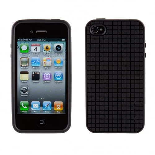 Speck PixelSkin HD TPU Black iPhone 4 Case