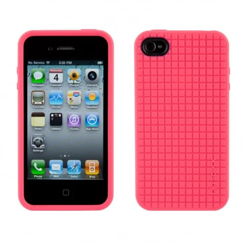 Speck PixelSkin HD Pink iPhone 4 Case