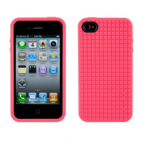 Speck PixelSkin HD Pink TPU iPhone 4 Case