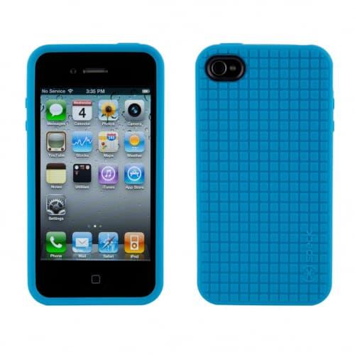 Speck PixelSkin HD Blue TPU iPhone 4 Case
