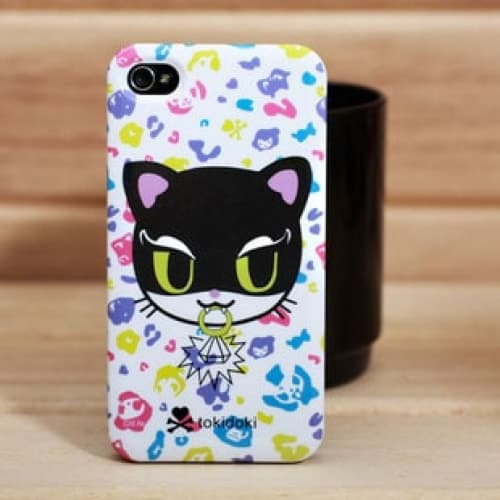 tokidoki Kitty Thief Uncommon Deflector for iPhone 4 4S