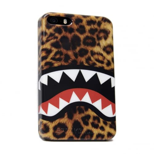Sprayground Leopard Shark iPhone 5 5s 5c Case