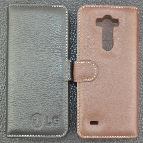 LG G3 Premium Real Leather Card Holder Case