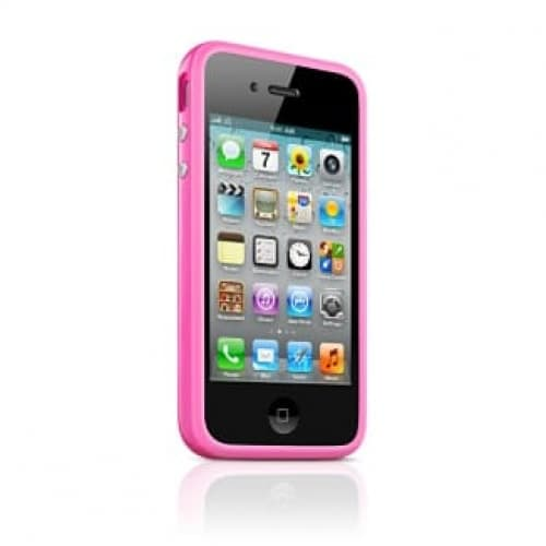 Apple Bumper Pink for iPhone 4 4S (MC669ZM/B)
