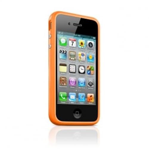 Apple Bumper Orange for iPhone 4 4S (MC672ZM/B)