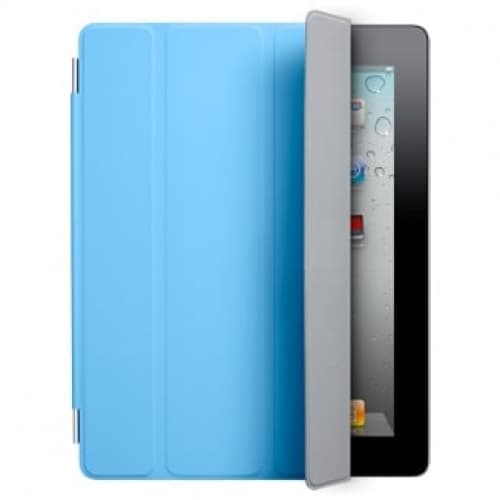 Smart Cover for Apple iPad 2 and the new iPad - Polyurethane Blue