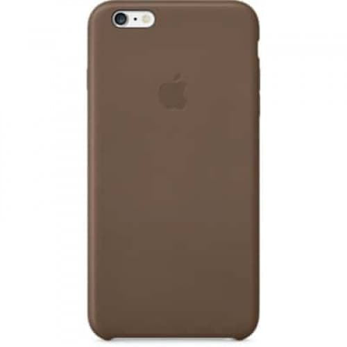 Leather Case for Apple iPhone 6 Plus Olive Brown