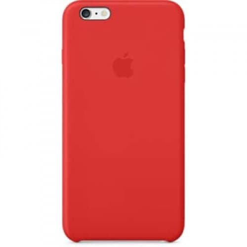 Leather Case for Apple iPhone 6 Plus Red