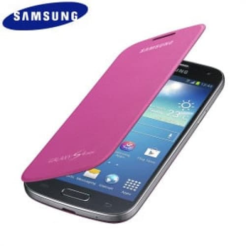Samsung Galaxy S4 Mini Flip Pink Case Cover