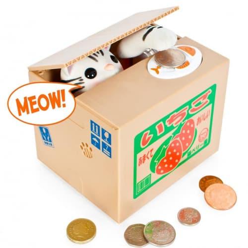 Kitty Cat Coin Bank
