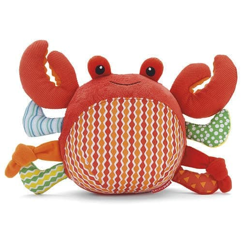 Skip Hop Ocean Pals Crab Chime Ball Toy