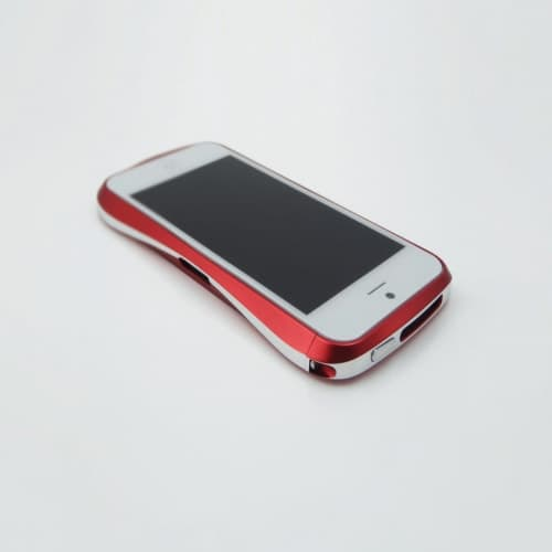 Draco 5 Deff Cleave Japan Aluminum Bumper for iPhone 5 (Flare Red)