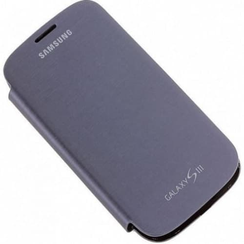 Samsung Galaxy S3 S III Flip Cover - Pebble Blue