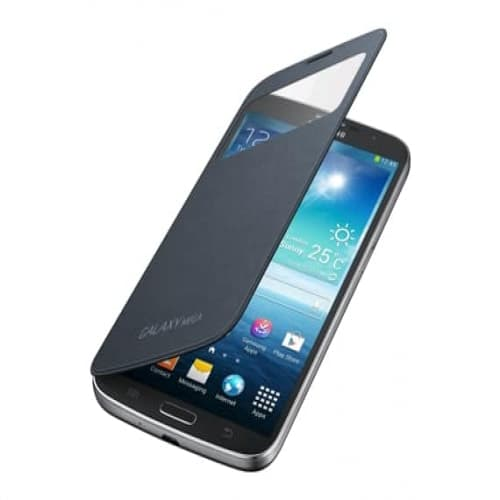 Samsung S-View Flip Cover Case Black for Galaxy Mega 6.3