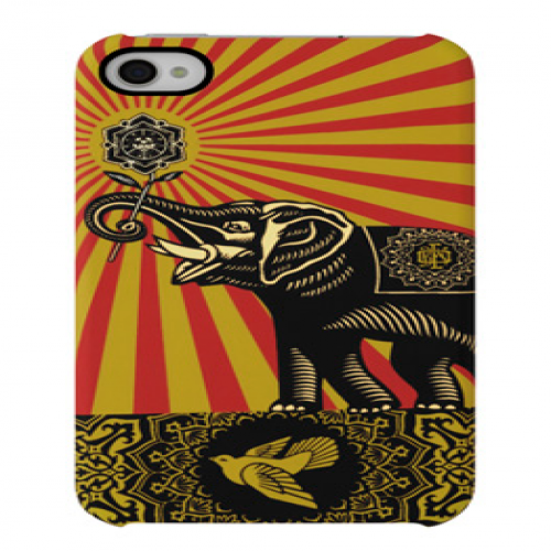 Shepard Fairey Snap Case - Elephant