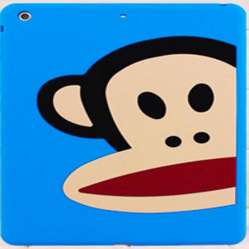 Paul Frank Silicone Case for iPad Air Half Blue Monkey Zoom Julius