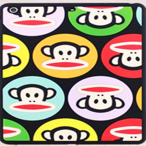 Paul Frank Silicone Case for iPad Air Talkative Monkey Black Multi Julius