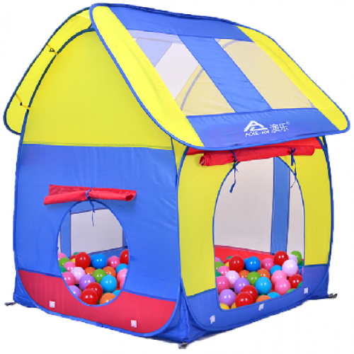 Kids Home House Shaped Camping Tent