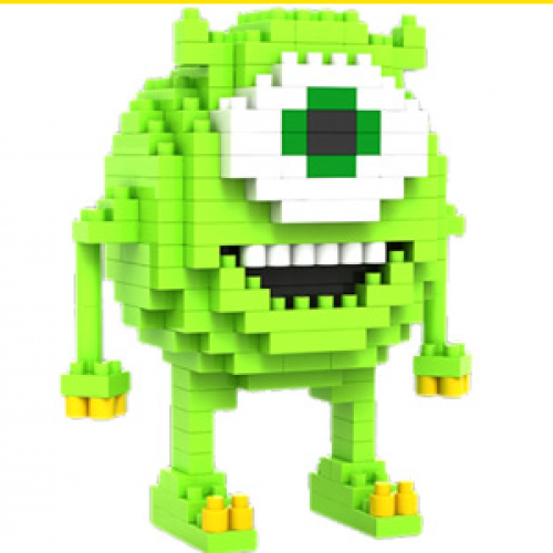 "Loz Toy Nano Building Block Gift Series ""Mike Wazowski"" Monsters Inc"