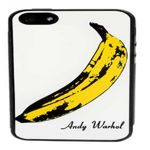 Andy Warhol Banana Case for iPhone 5 5s