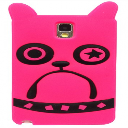 Marc Jacobs Pickles the Bulldog Pink Galaxy Note 3 Case