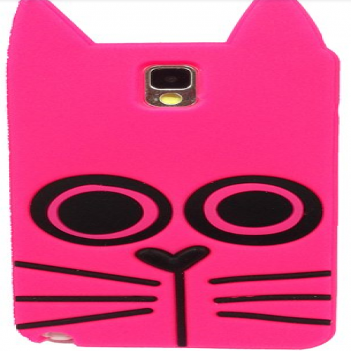 Marc Jacobs Rue the Cat Pink Galaxy Note 3 Case