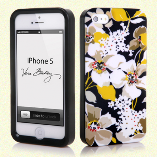 Vera Bradley Snap On Case for iPhone 5 5s Dogwood