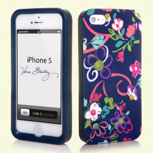 Vera Bradley Snap On Case for iPhone 5 5s Ribbons