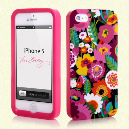 Vera Bradley Snap On Case for iPhone 5 5s Va Va Bloom