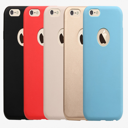 Totu Logo Leather Feel Case for Apple iPhone 6