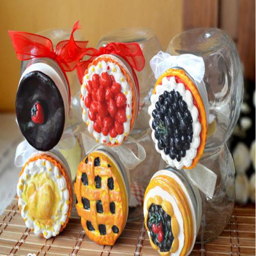 Cute Pie Top Candy Mason Jar 650ml 22oz