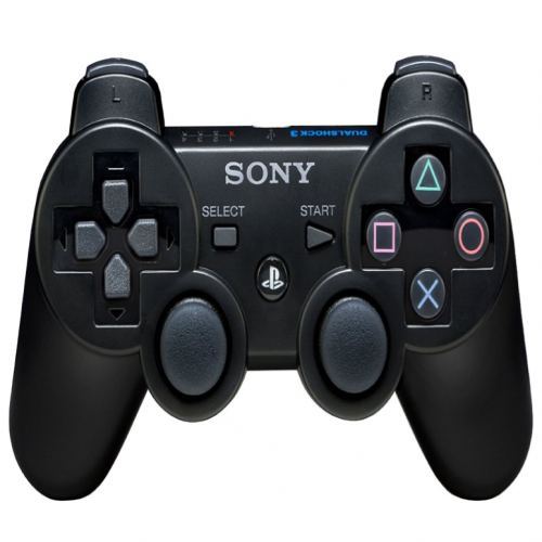Sony PS3 DualShock 3 Black Wireless Controller