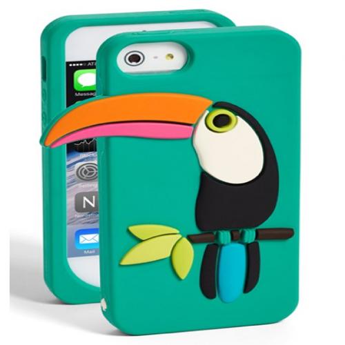 Kate Spade Toucan Silicone iPhone 5 5s Case