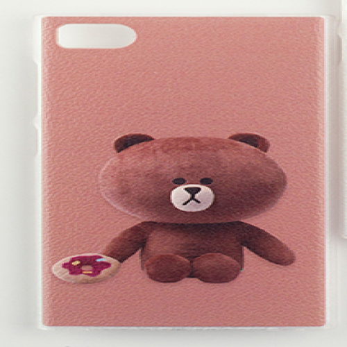Line Character Case Brown Bear for iPhone 5 5s